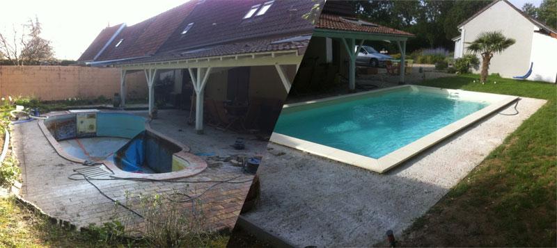 Zoom sur la construction et l'installation d'une piscine structure monocoque