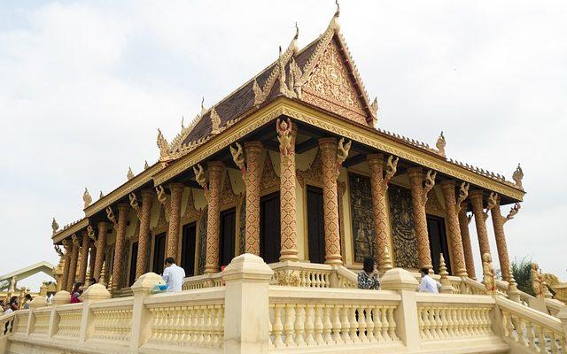 temple kmer pagoda